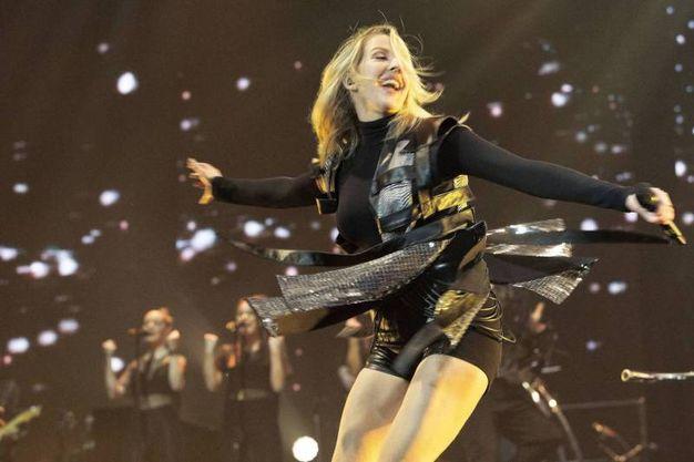 La cantante britannica Ellie Goulding avrebbe una relazione segreta col principe Harry? (Olycom)