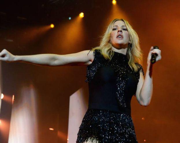 La cantante britannica Ellie Goulding avrebbe una relazione segreta col principe Harry? (afp)