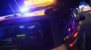Sul posto gli agenti della polizia stradale
