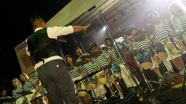 La banda Rulli Frulli a Lesyinfesta