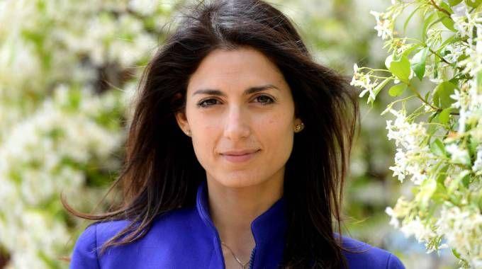 Virginia Raggi, candidata sindaco a 5 stelle (Afp)