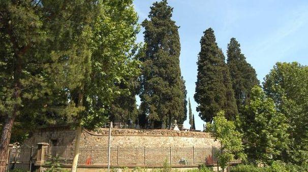 Il cimitero degli Inglesi a Firenze (Pressphoto)