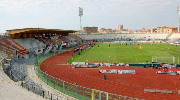 Lo stadio comunale 'Armando Picchi' di Livorno