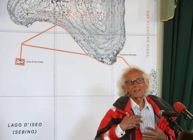 La mappa mostra la piantina dell'opera
