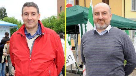 Marco Ballarini e Fulvio Rondena, al ballottaggio a Corbetta