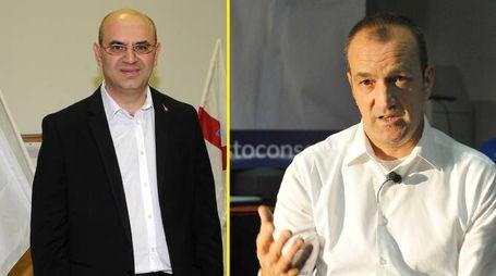 Massimo Cozzi e Sergio Parini al ballottaggio a Nerviano
