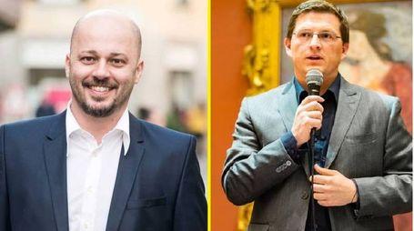 Erik Molteni e Juri Fabio Imeri, al ballottaggio a Treviglio