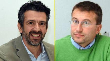 Ballottaggio a Desio, i candidati Massimo Zanello e Roberto Corti