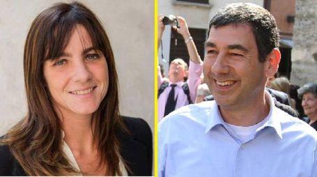 Ballottaggio a Vimercate, Mariasole Mascia e Francesco Sartini