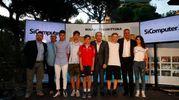 Carlino d'Oro 2016, a Milano Marittima le premiazioni dei vincitori assoluti: Diego Santaniello, Nicolas Rango, Elena Prinzivalli  Luca Mercuriali (Foto Corelli)