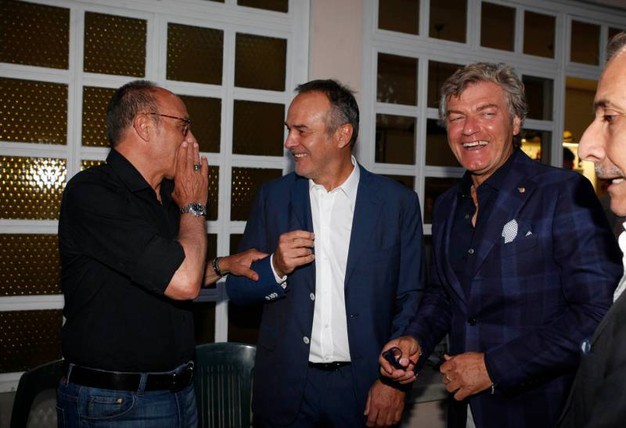 Da sinistra: Causio, Cabrini e Antognoni (Foto Corelli)