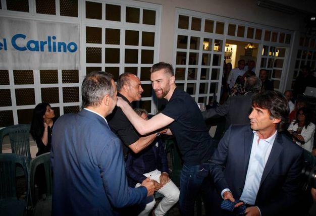 I big del calcio alle premiazioni del Carlino d'Oro  (Foto Corelli)