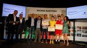 Carlino d'Oro 2016, i premiati di Ancona: Nicolas Rango , Davide Veroli  e Ciro Menotti (foto Corelli)