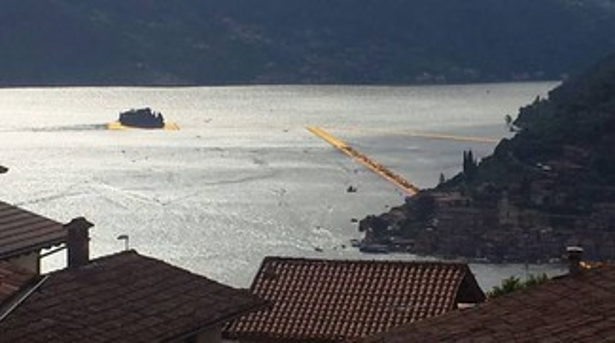 The Floating Piers, rischio chiusura per maltempo