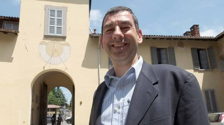 Francesco Sartini, sindaco di Vimercate (Radaelli)