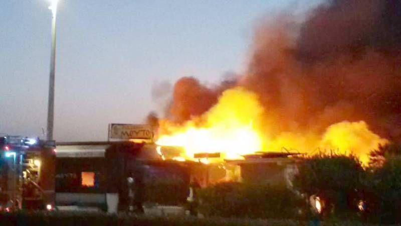 Risultati immagini per incendio di locale