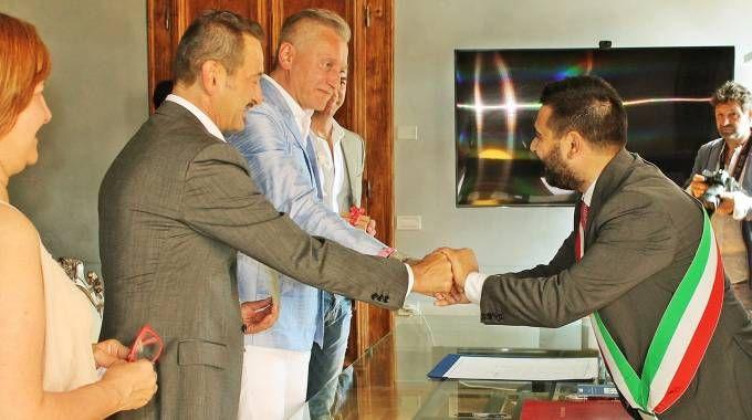 A Lugo la prima unione civile gay dopo la nuova legge. Guarda le foto