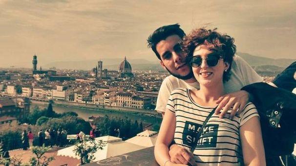 Riccardo Maglianesi e Chiara Magnamassa