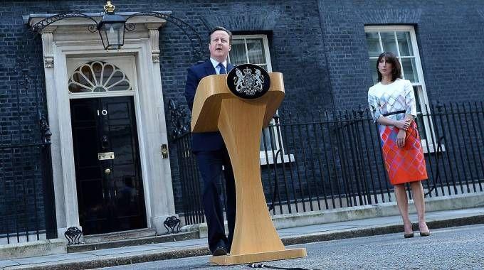 David Cameron annuncia le sue dimissioni (Afp)