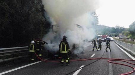 L'incendio in Valassina