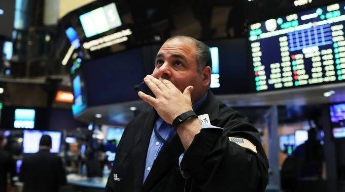 Brexit, crollano le Borse (AFP)