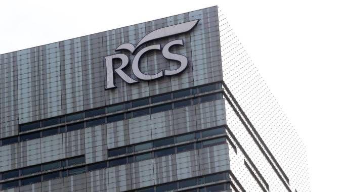 La sede Rcs in via Rizzoli a Milano (Ansa)
