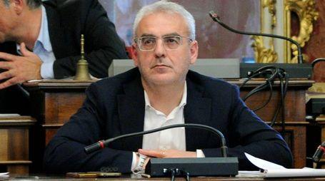 CONSIGLIO COMUNALE MACERATA, 09/05/16.NELLA FOTO: ROAMNO CARANCINI, SINDACO