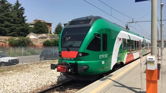 Nuovo treno elettrico sulla Vignola-Bologna