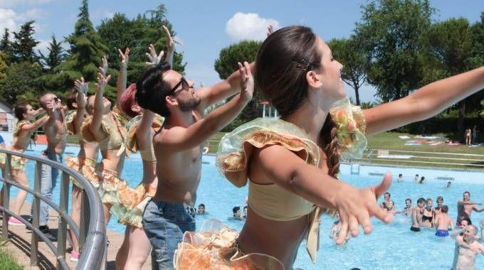 Aquafan, la festa per i 30 anni. Le foto dei vip ieri e oggi