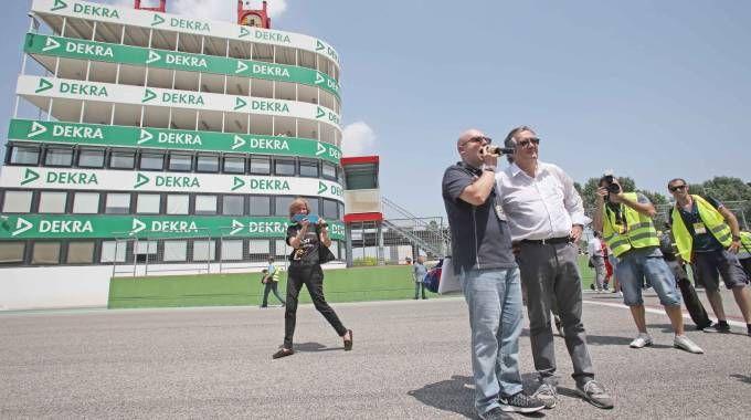 Il Minardi-Day infiamma l'Autodromo con i piloti e i bolidi di F1/FOTO