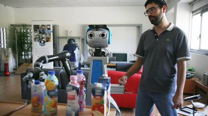 Nascono a Pisa i robot badanti e quelli per il condominio