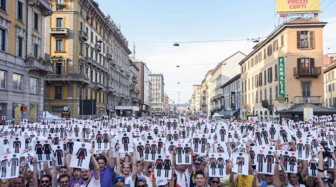Milano Pride 2016 (La Presse)