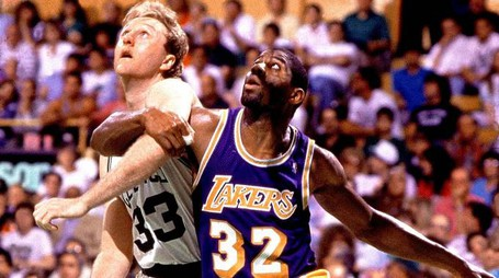 Larry Bird vs Magic Johnson, i re degli anni '80 (youtube)