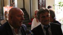 Fabrizio Lucchesi e Fabio Petroni in municipio
