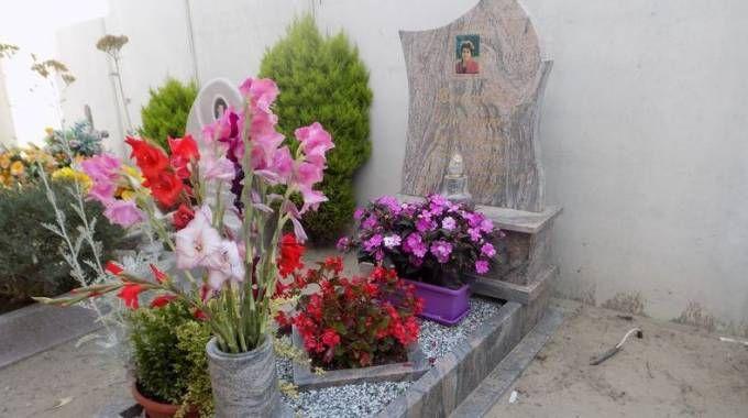 La tomba di Lorenzina Bertaglia