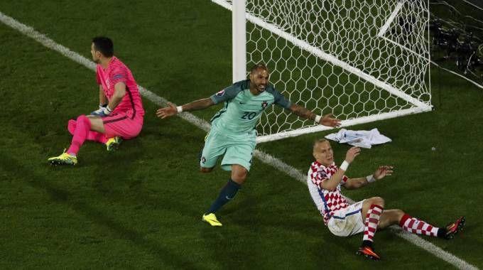 Croazia-Portogallo 0-1, Quaresma all'ultimo respiro