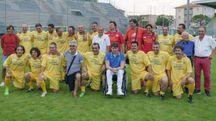 La festa per ricordare la storica promozione della Fermana in C1 (Zeppilli)