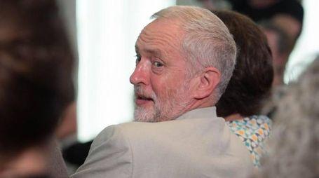 Il leader labourista Corbyn (Ansa)
