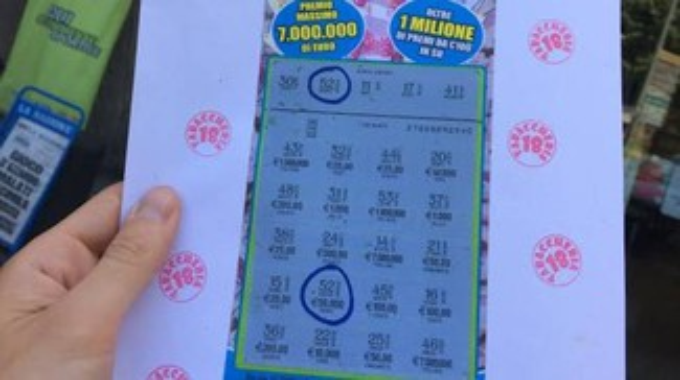 Gratta e vince 50mila euro
