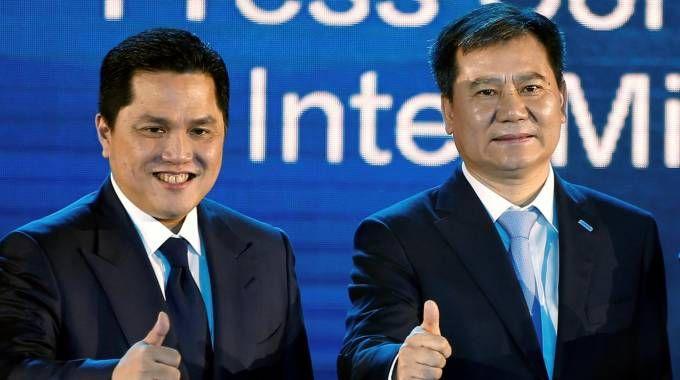 Erick Thohir e Jindong Zhang