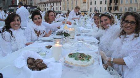 La cena in bianco dell'anno scorso
