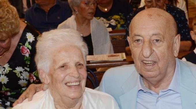 Nozze di diamante, festa per Lucia e Silvio