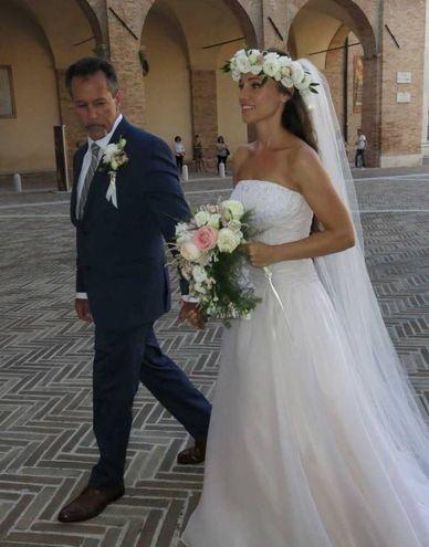Nicolette si avvia verso il Palazzo Ducale (foto Tiziano Mancini)