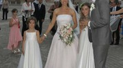 Matrimonio del regista Alessandro Carloni con Nicolette Davenport (foto Tiziano Mancini)