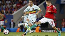 Ungheria-Belgio: Eden Hazard ha realizzato un assist ed un goal nel 4-0 finale