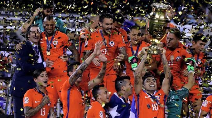 Il Cile vince la Coppa America (AFP)