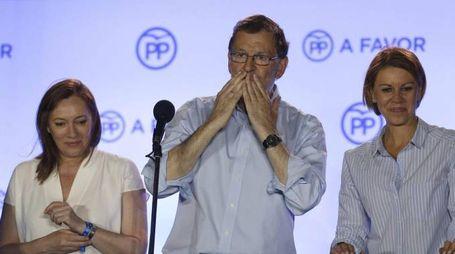 Spagna, il primo ministro Mariano Rajoy (Ansa)
