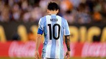 Lionel Messi lascia la Seleccion (Afp)