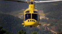 Per ritrovare il disperso sono stati utilizzati anche gli elicotteri (foto di repertorio)