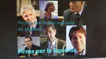 Alcuni dei volti prestigiosi che hanno aderito all'appello de La Nazione per salvare la Biblioteca universitaria di Pisa